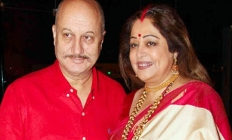 Anupam Kher responds to reports of Kirron Kher's death