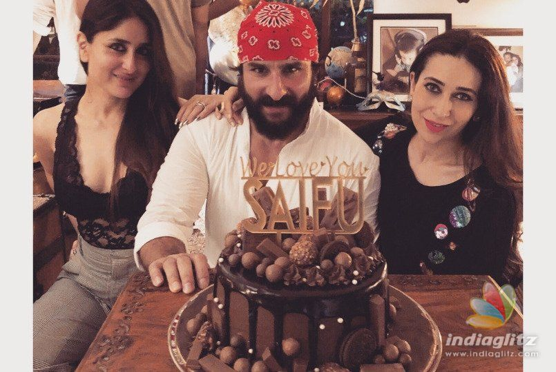 Saif Ali Khan Rings In His Birthday With His Close Ones!