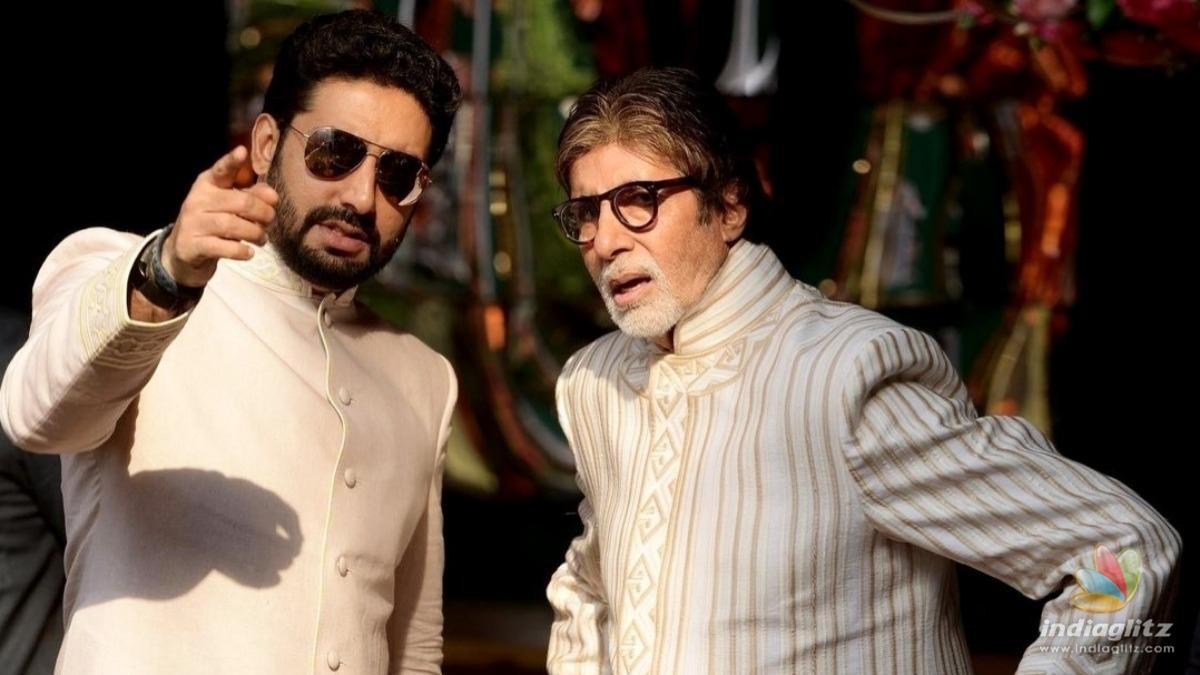 Abhishek Bachchan calls his father a good roomie