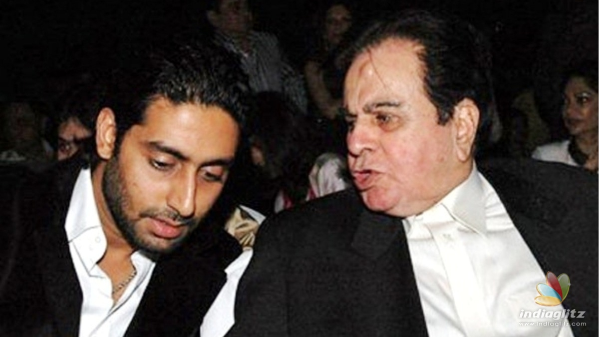 Abhishek Bachchan shares how he lost the chance to work with Dilip Kumar