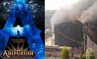 Saif Ali Khan and Prabhas starrer 'Adipurush' meets an horrible accident in second day of filming