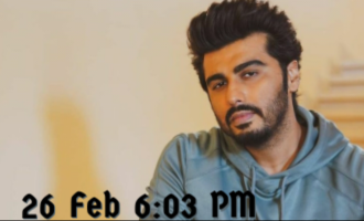 Arjun Kapoor to make important announcement  regarding 'Muddy'