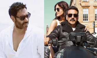 Ajay Devgan hypes up Akshay Kumar's 'Bell Bottom'