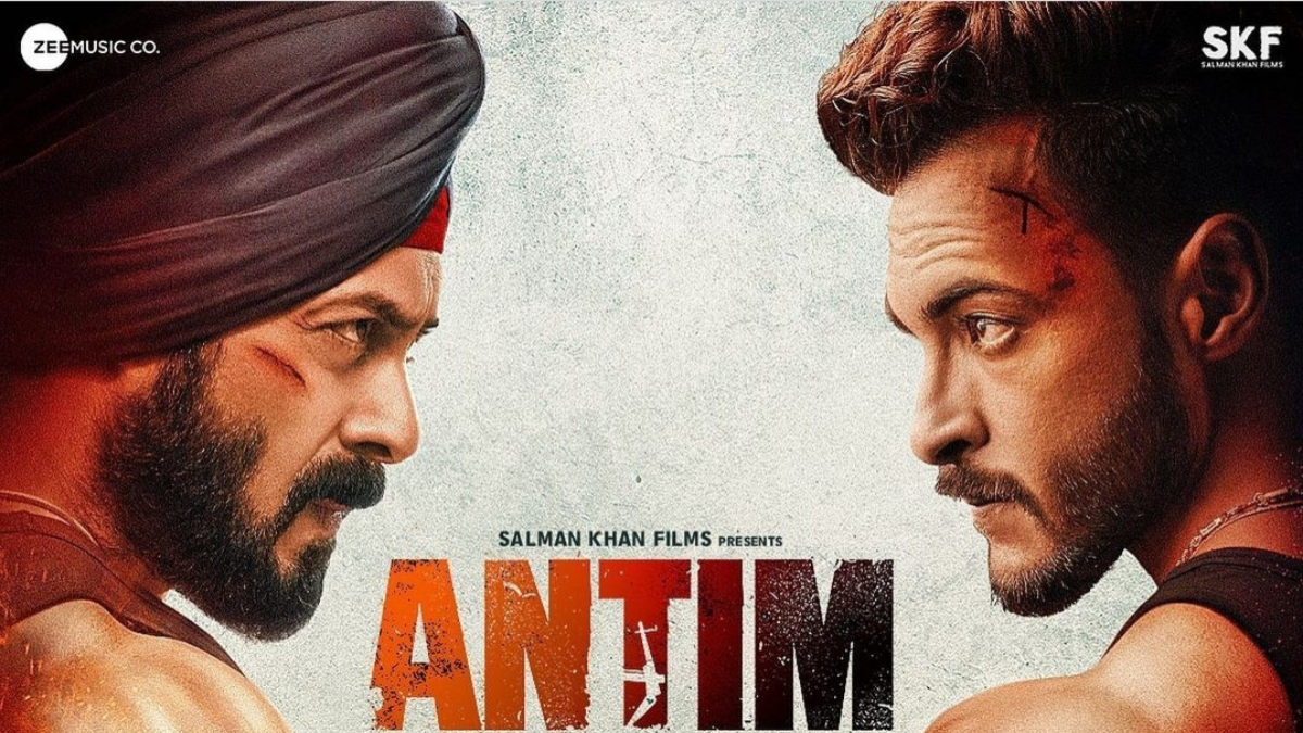 Check out the first poster of Salman Khans Antim