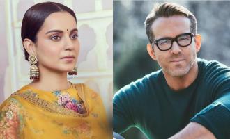 Kangana Ranaut responds to Ryan Reynolds' statement about Bollywood