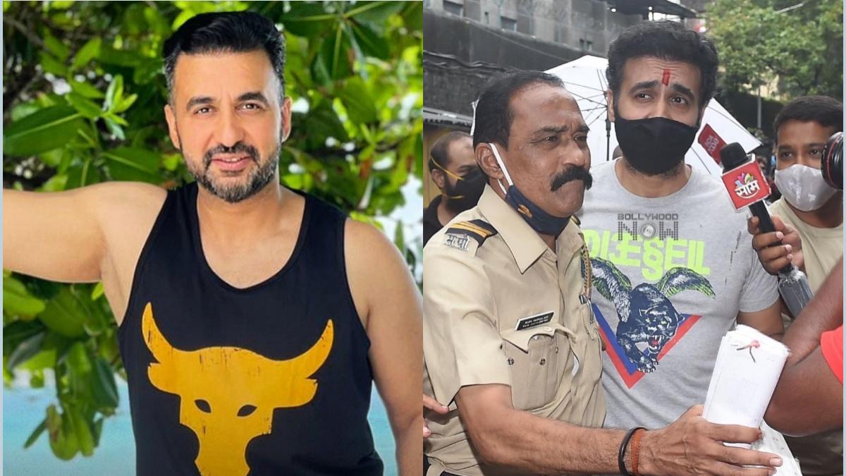 Raj Kundra returns home after getting bail