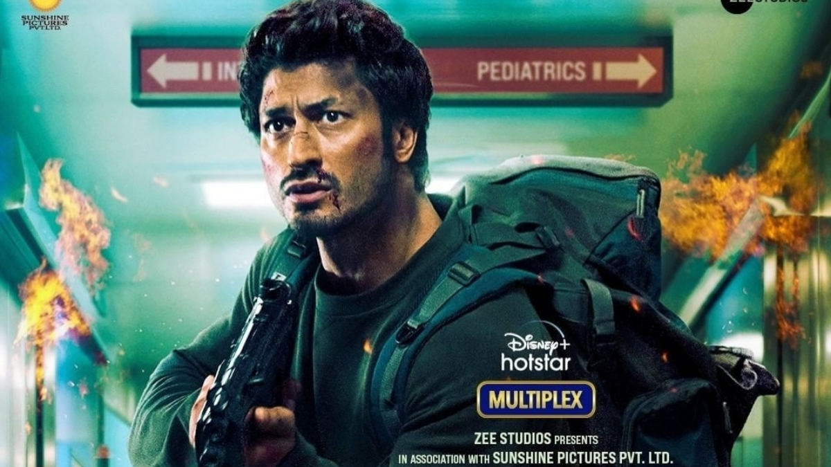 Check out the latest poster of Vidyut Jamwals Sanak