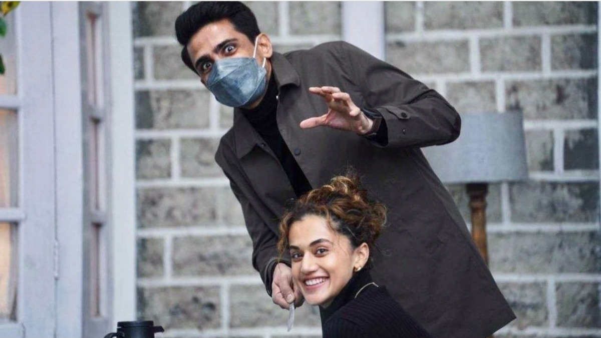 Character details of Taapsee Pannu and Gulshan Devaiah from Blurr