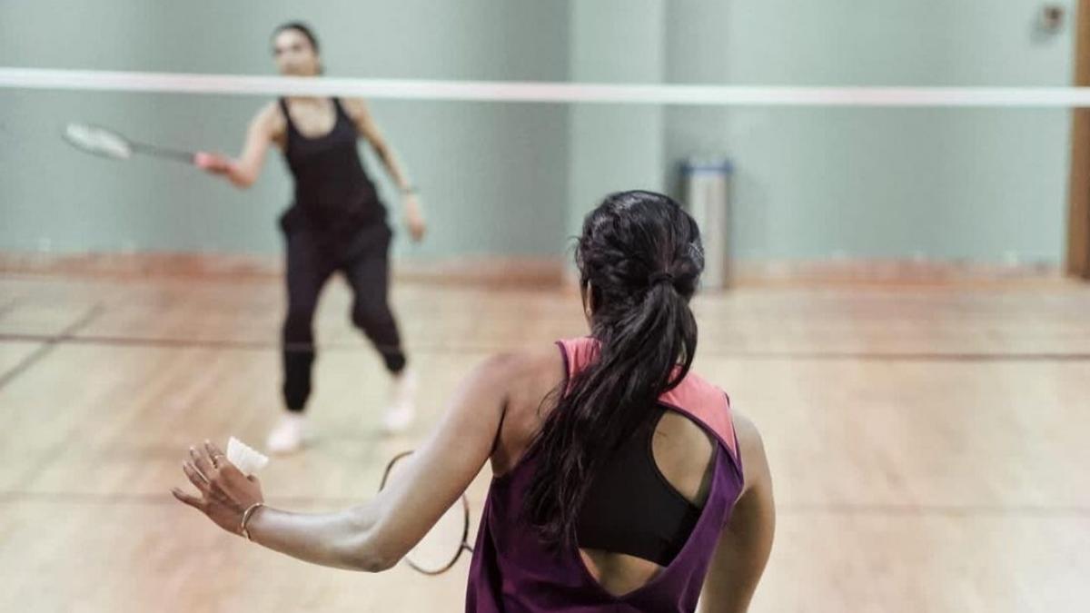 PV Sindhu is all praises for Deepika Padukones badminton skills