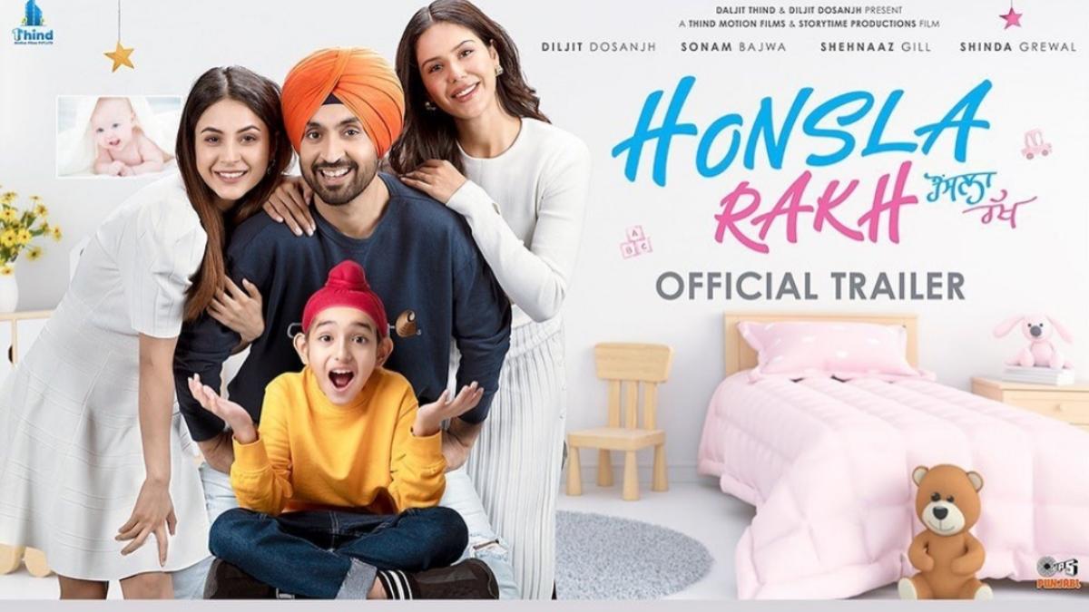 Check out the trailer of Diljit Dosanjh and Shehnaaz Gills Honsla Rakh