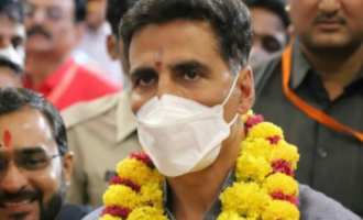 Akshay becomes Lord Shiva in first look