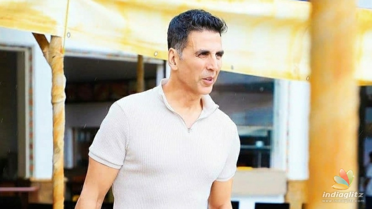 Akshay Kumar makes a shocking announcement
