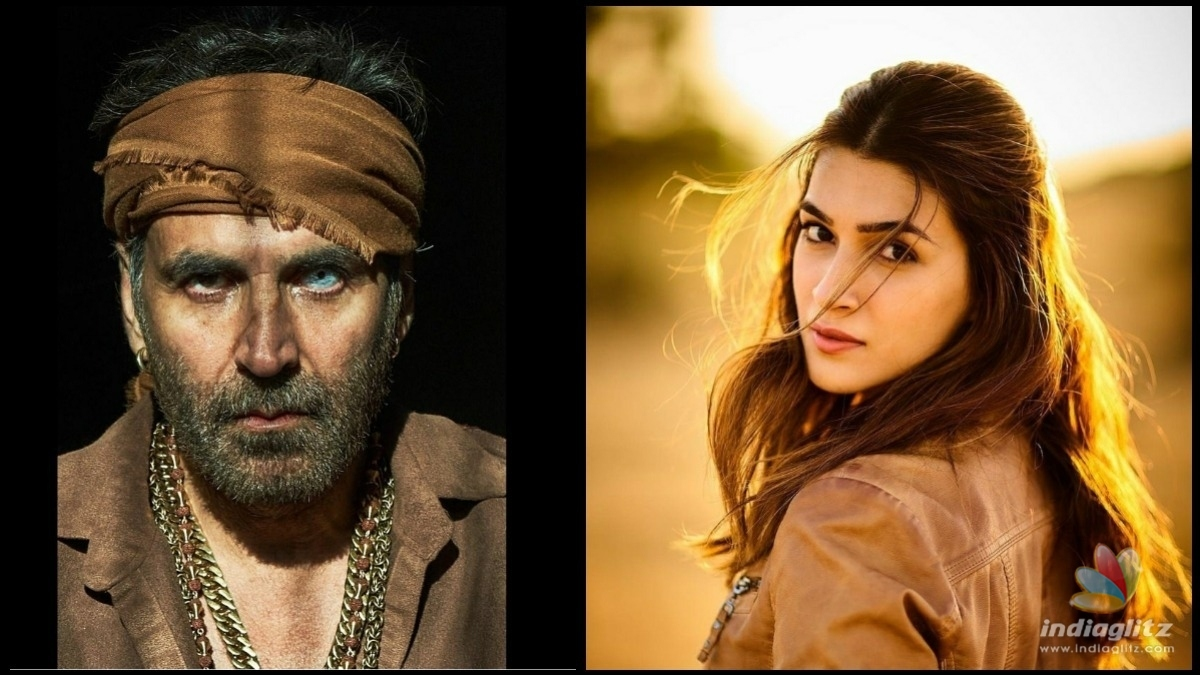 Akshay Kumar turns photographer for Kriti Sanon