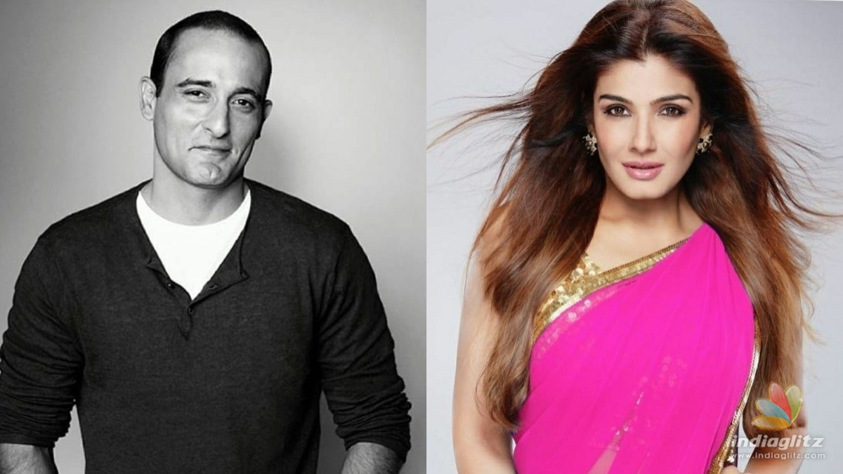 Raveena Tandon and Akshay Khanna to pair up soon
