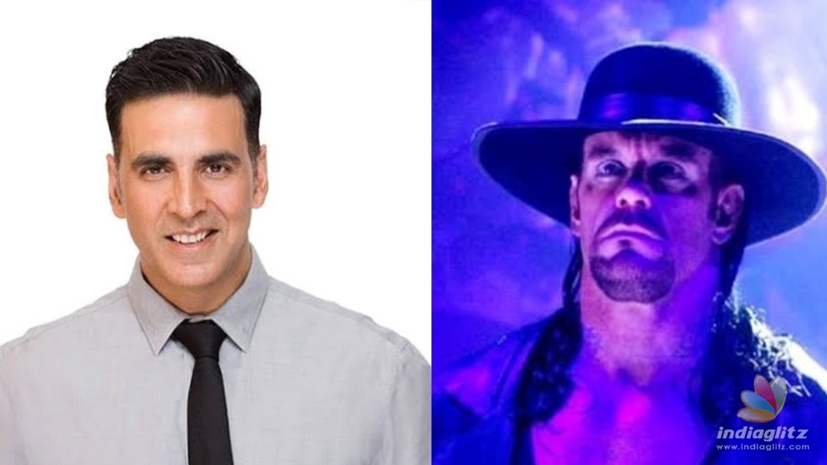 Akshay get a challenge from the REAL Undertaker