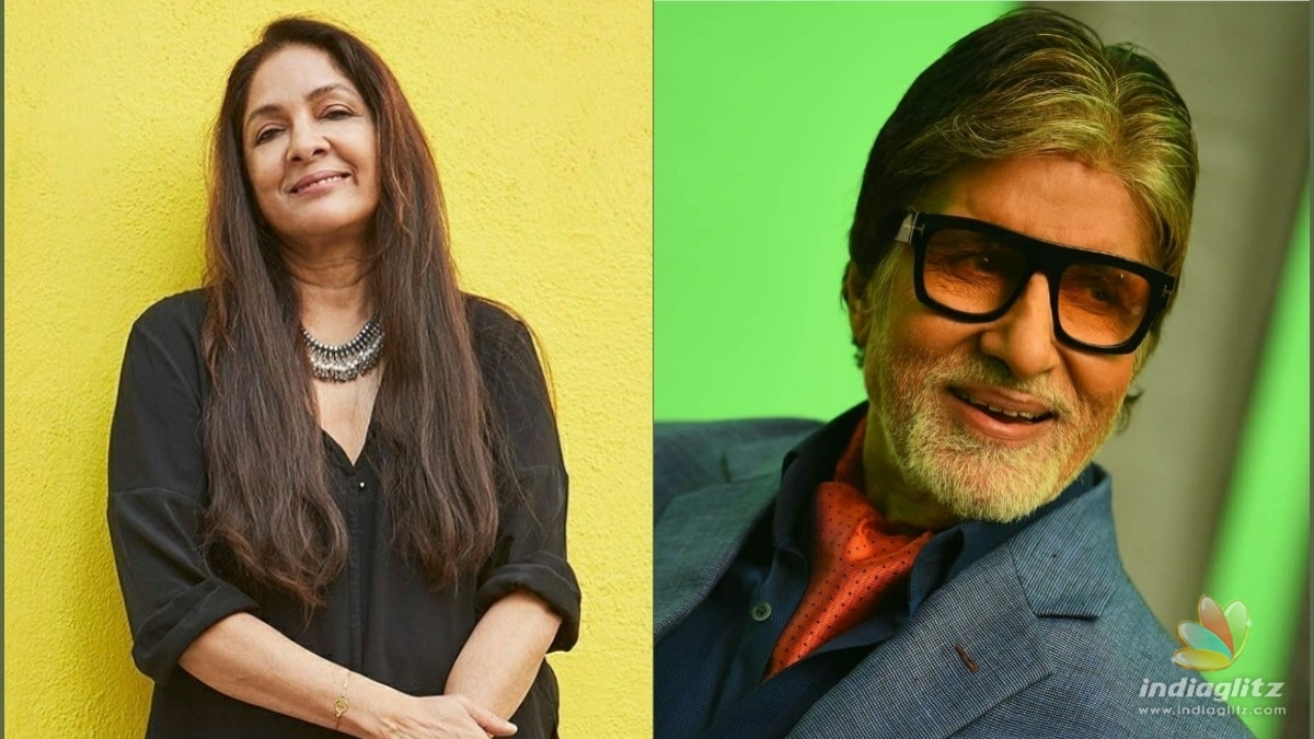 Neena Gupta opened up about working with Amitabh Bachchan