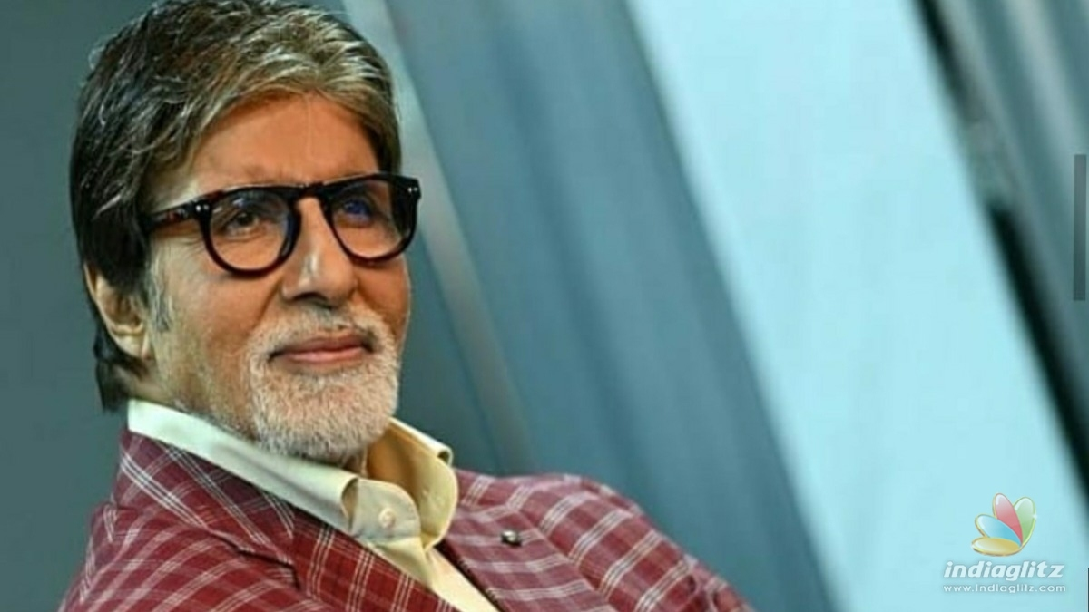 Amitabh Bachchan makes an unexpected announcement about Chehre