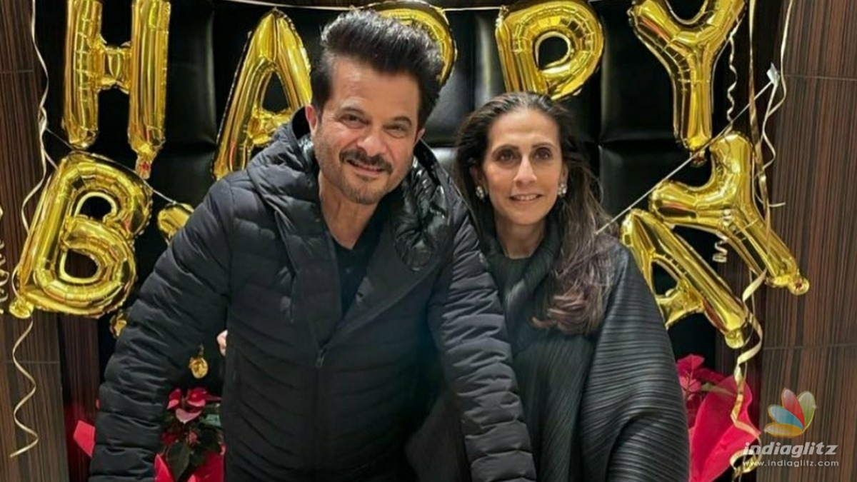 Check out Anil Kapoors adorable birthday note for his wife