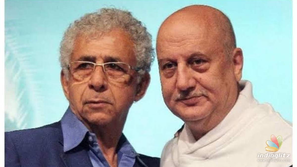 Anupam Kher showers well wishes on Naseeruddin Shah