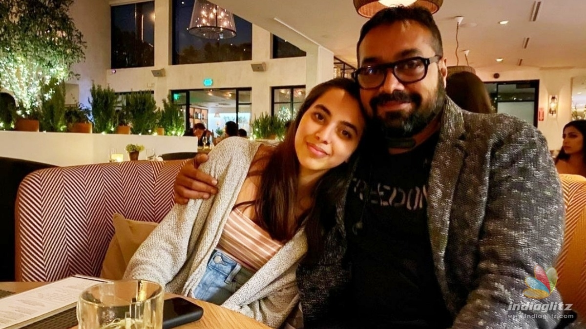 Anurag Kashyaps daughter reacts to #metoo allegation against her father