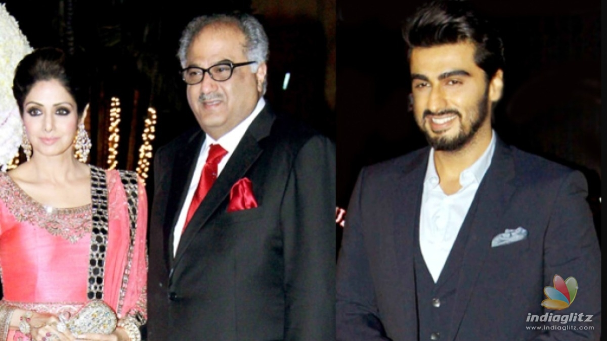 Arjun Kapoor talks about his fathers relationship with Sridevi