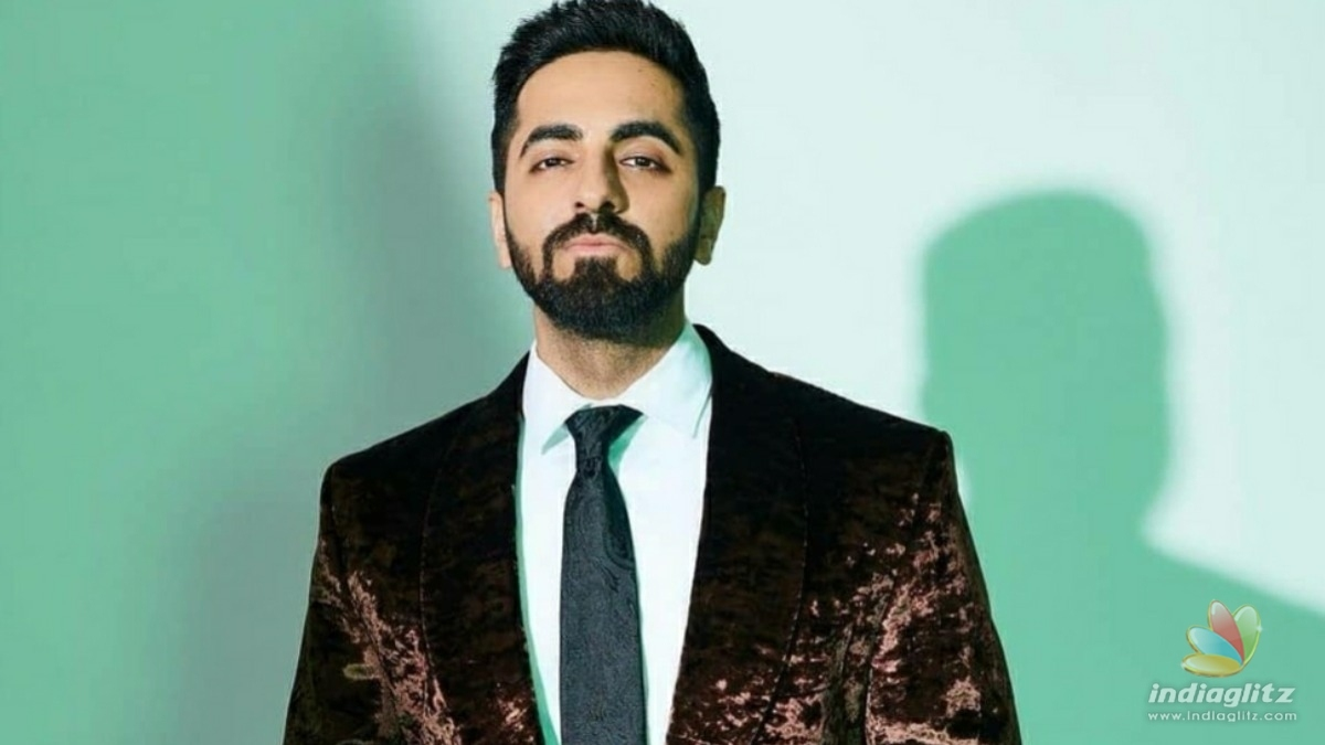 Ayushmann Khurrana shares a glimpse of his next project