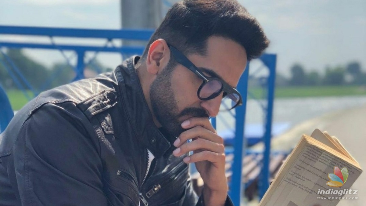 Ayushmann Khurrana goes all out about his love for poetry