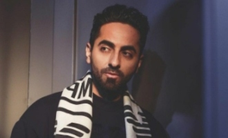Ayushmann remembers his debut film