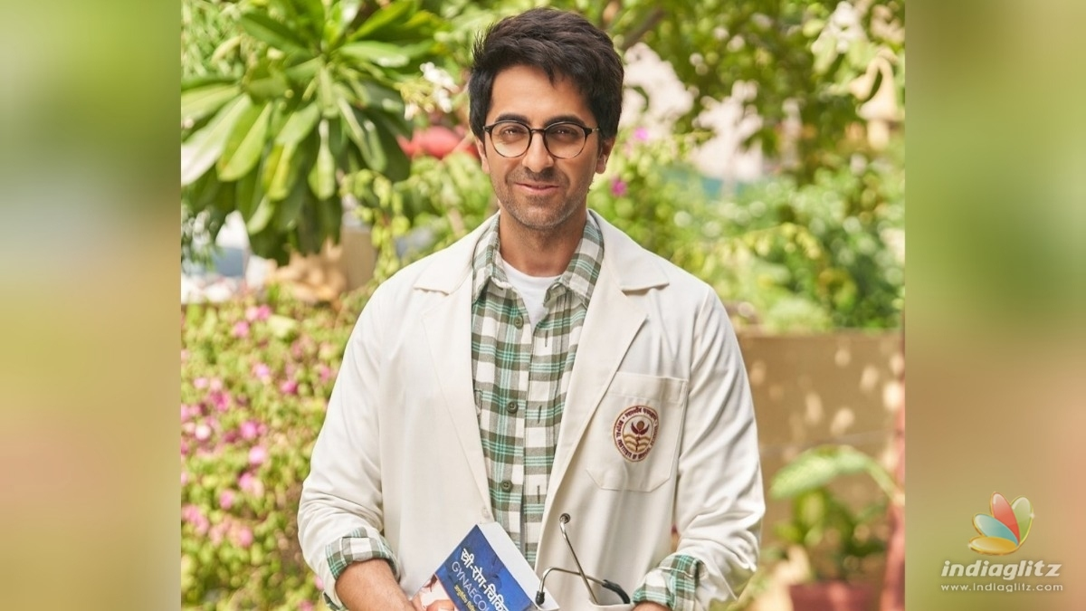 Check out Ayushmann Khurranas first look from Doctor G