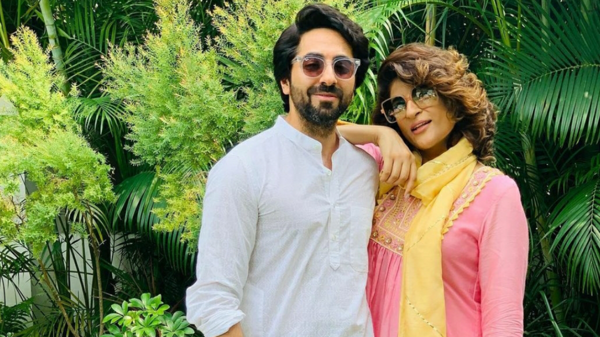 Check out Ayushmann Khurranas adorable birthday not for wife Tahira Kashyap.