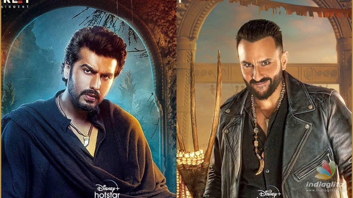 Check Saif Ali Khan and Arjun Kapoors first look from Bhoot Police
