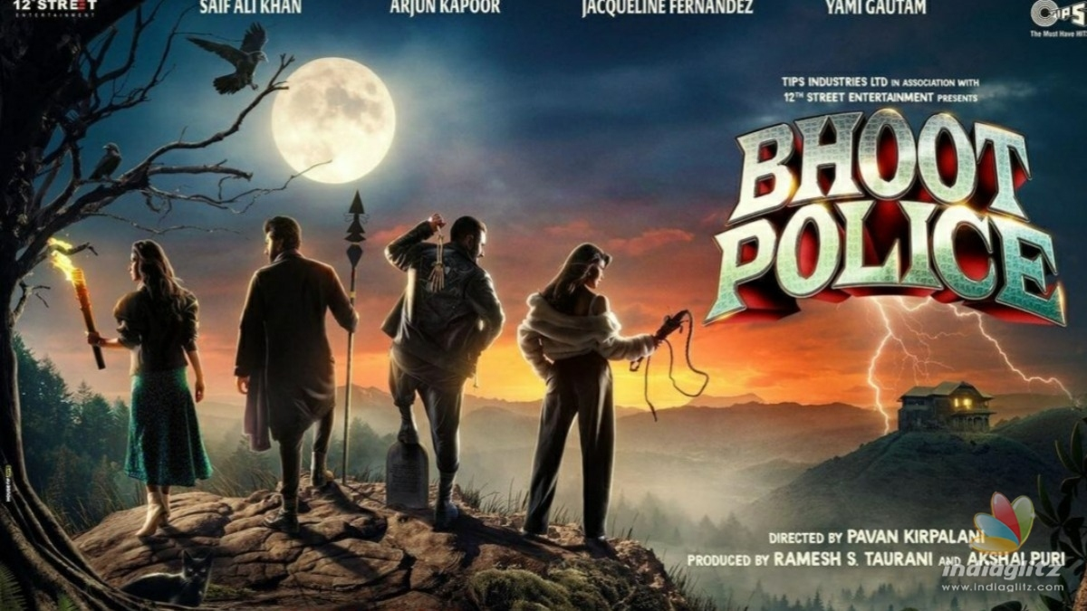 Check out the first poster and release date for Bhoot Police