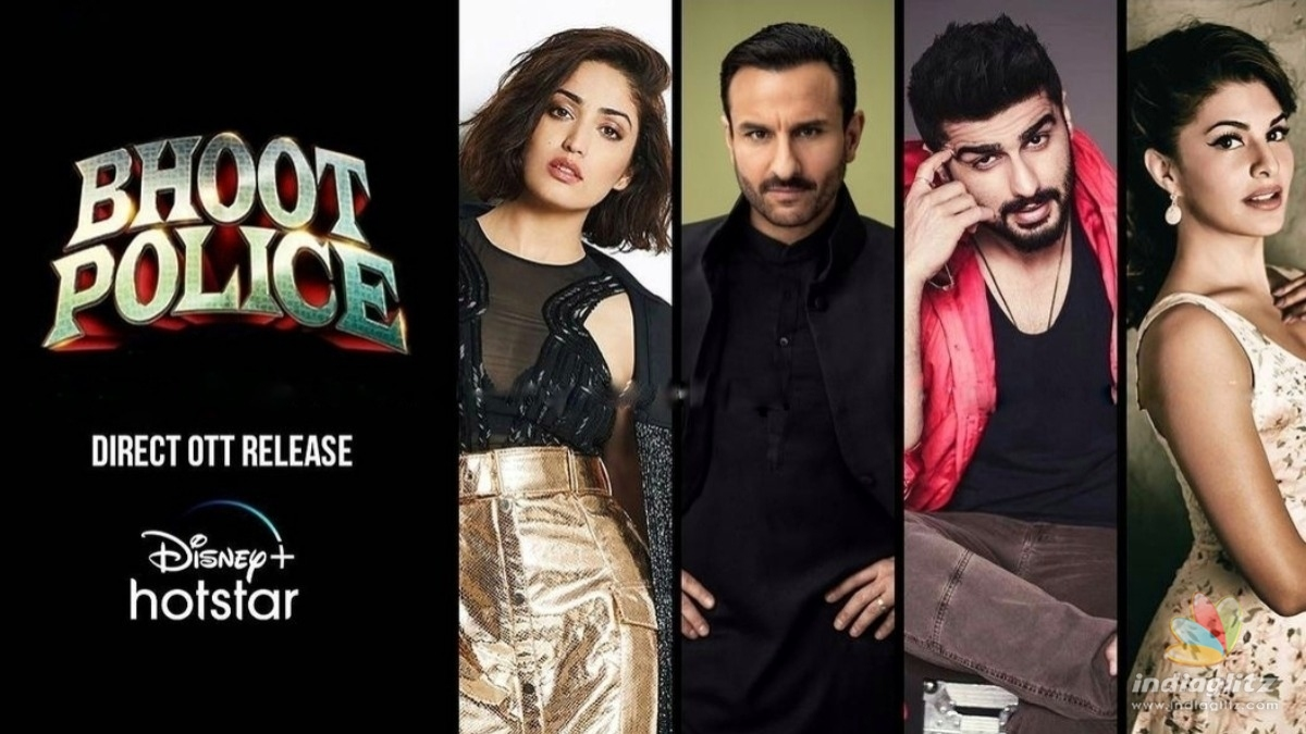 Bhoot Police will premiere on this platform