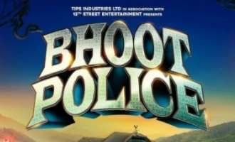 Check out the first poster and release date for 'Bhoot Police'