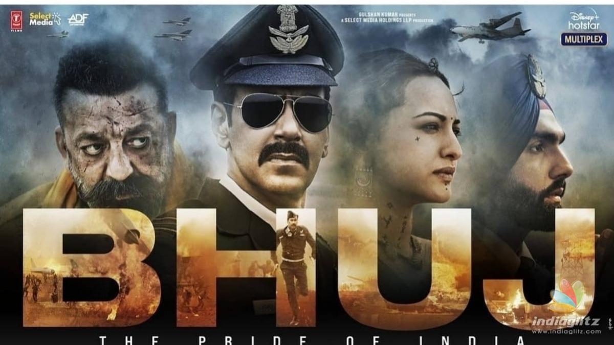 Check out the stunning trailer of Ajay Devgans Bhuj
