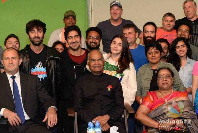 Team Brahmastra Gets VVIP Visitors On The Sets In Bulgaria