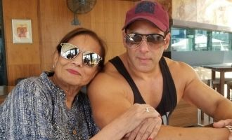 Salman Khan Recreates a Karan Arjun Moment With The Love Of His Life On The Sets Of Bharat