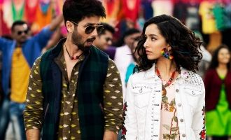 Shahid Kapoor And Shraddha Kapoors Gold Tamba Is Unmissable