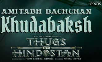 The Biggest Thug Of All Amitabh Bachchans Thugs of Hindostan First Look Out