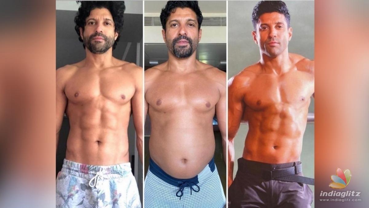 Farhan Akhtar shares his incredible transformation journey