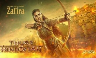 Fatima Sana Shaikh As Zafira In the New Poster Of 'Thugs of Hindostan' Is Unmissable!