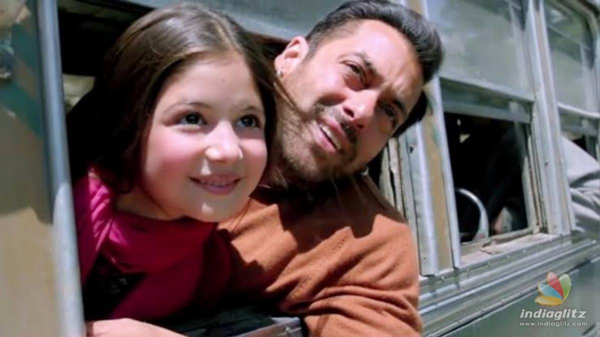 Harshaali Malhotra talks about her co-star Salman Khan