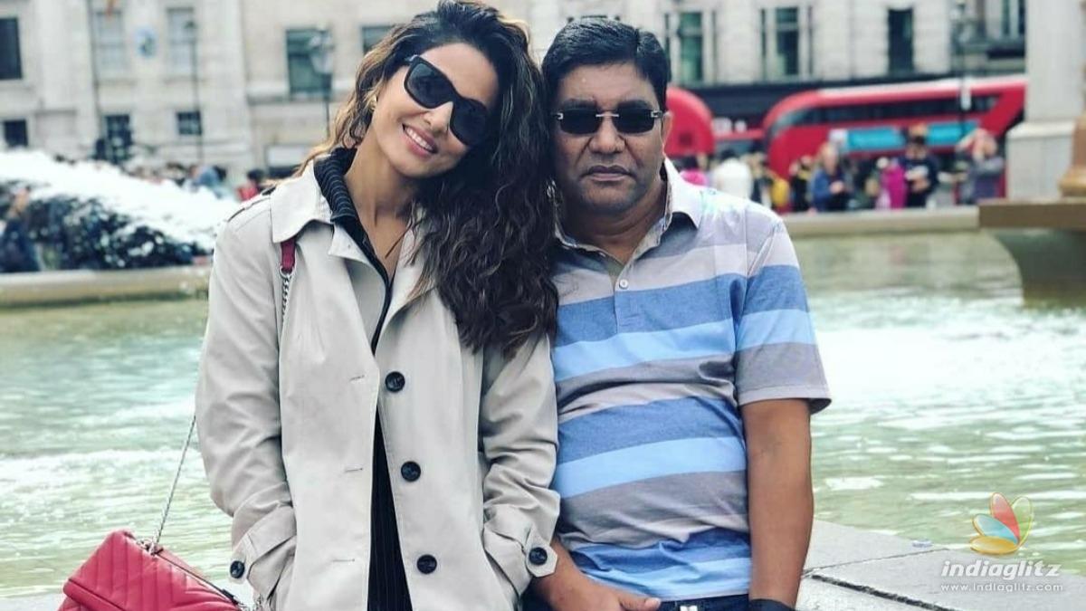 Actress Hina Khan suffers a massive personal loss