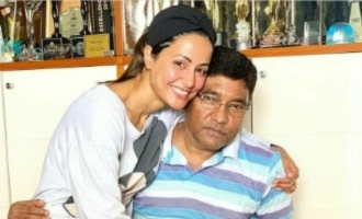 Actress Hina Khan suffers a massive personal loss of her father