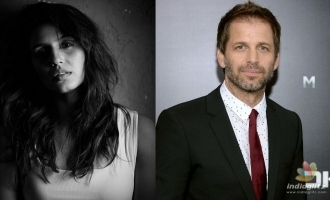 Zack Snyder and Huma Qureshi join forces