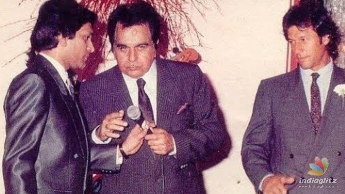 Pakistan PM pays his respects to Dilip Kumar