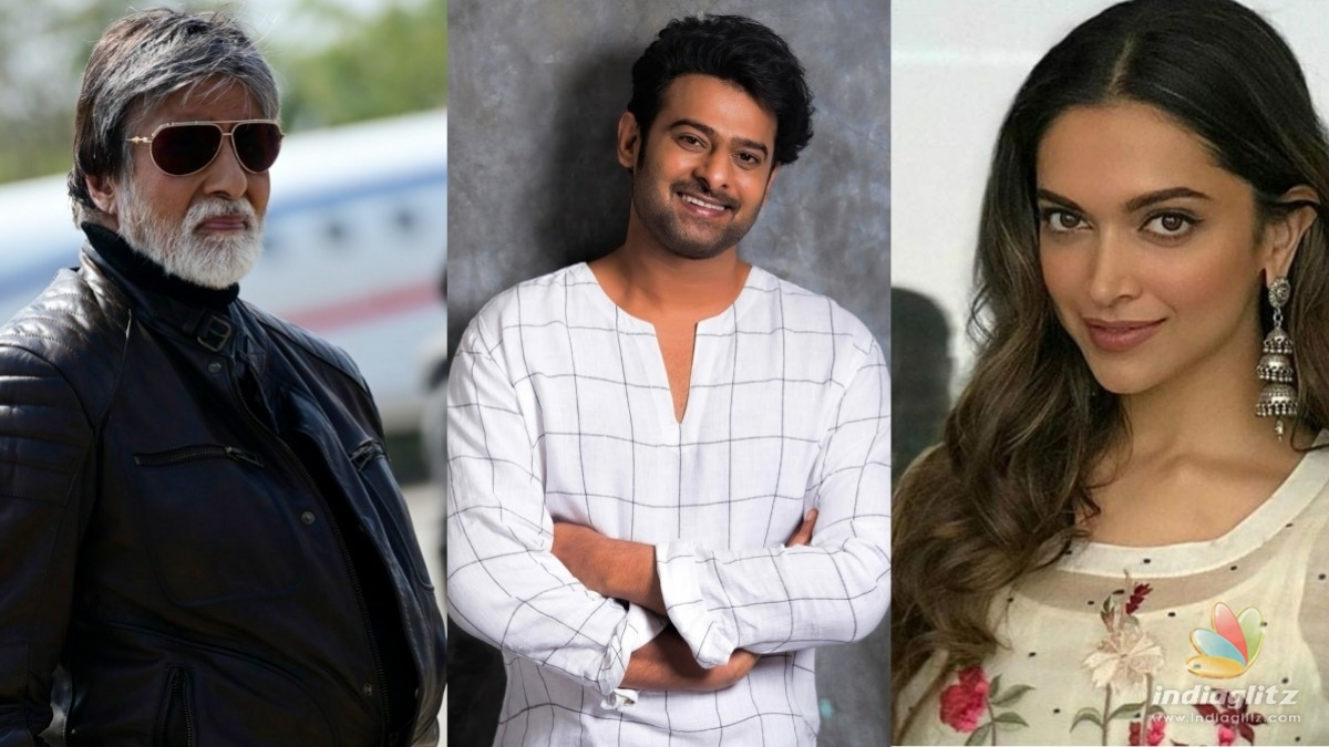 Prabhas, Deepika and Amitabh Bachchan might come together for this project