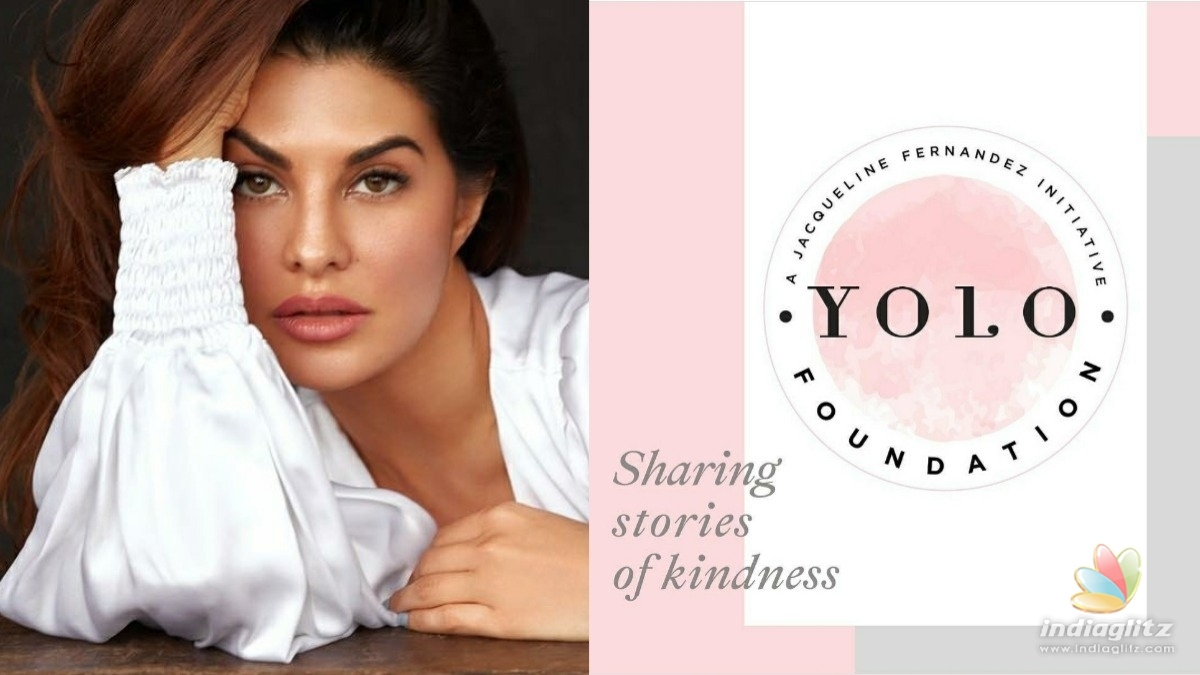 All about Jacqueline Fernandes new philanthropic initiative