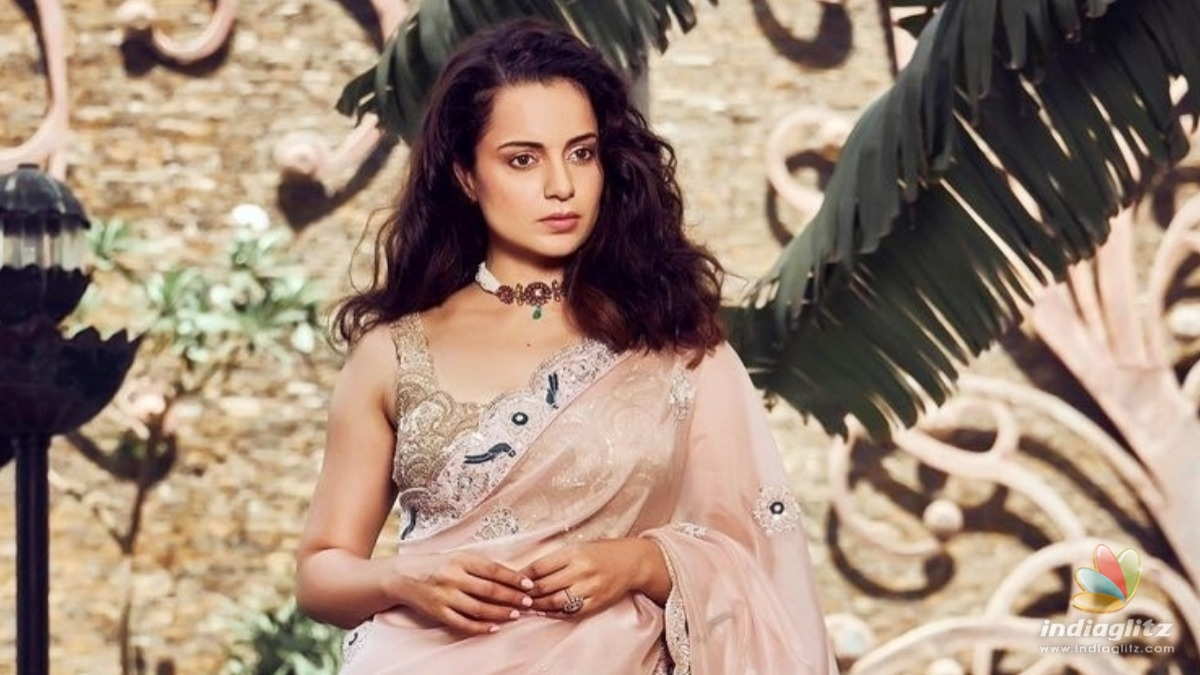 Kangana Ranaut has issues with the name of the country