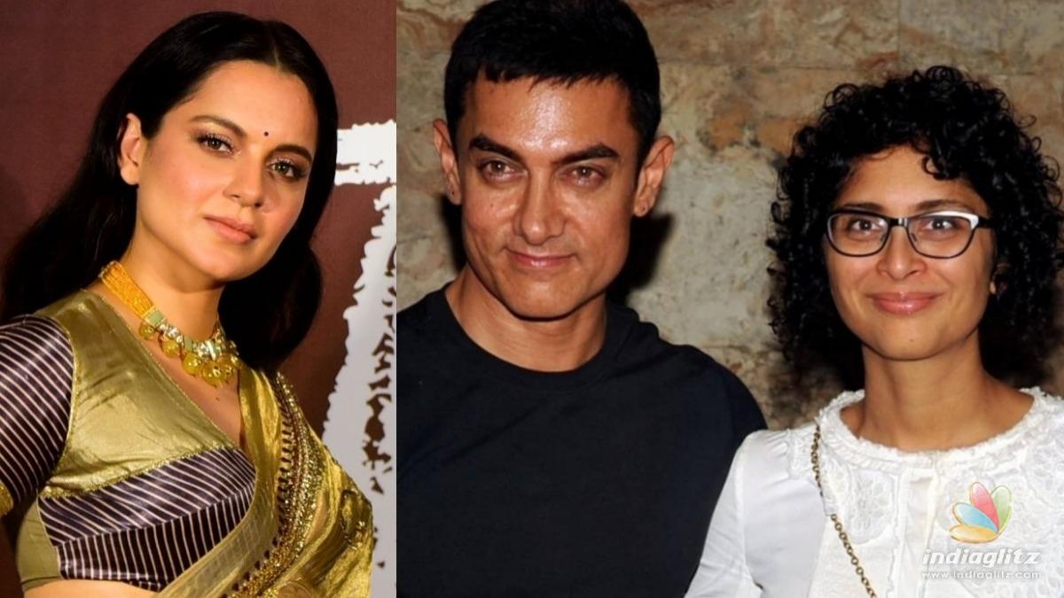 Kangana Ranaut gives a communal angle to Aamir and Kirans divorce